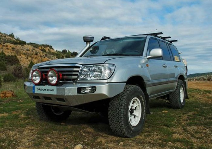 Тюнинг Toyota Land Cruiser 100
