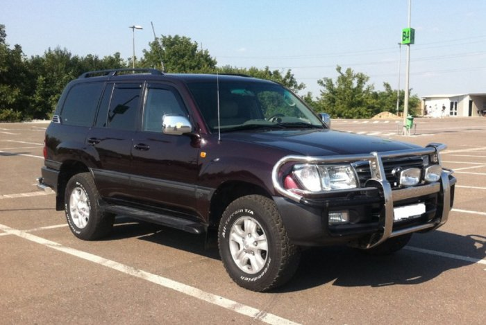 Тюнинг Toyota Land Cruiser 100 фото