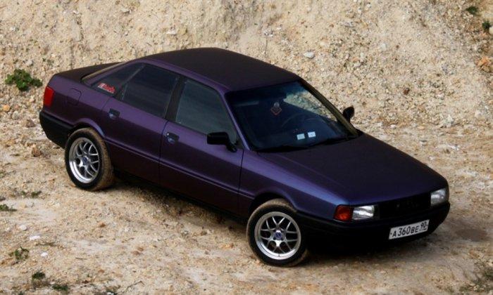 Тюнинг Audi 80 фото