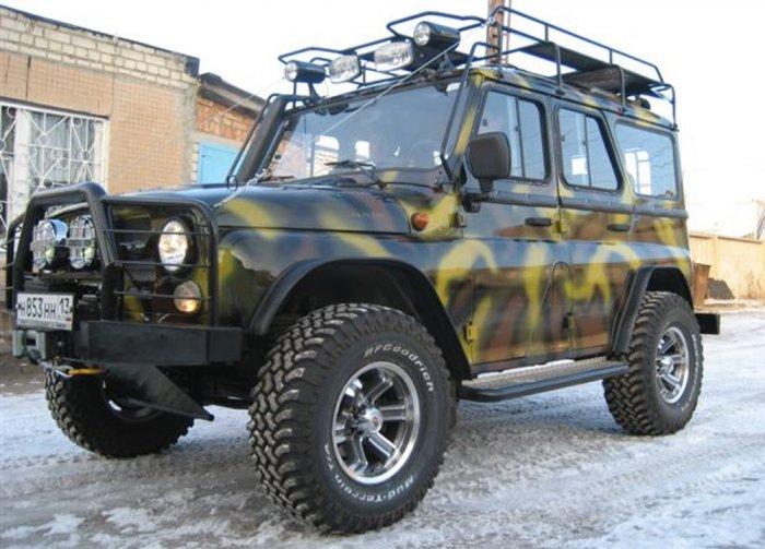 тюнинг UAZ Hunter фото