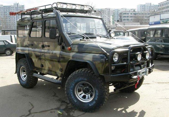 тюнинг УАЗ – 315195